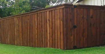 wood fencing companies